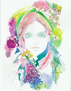 Foris | Cate Parr #watercolor  #illustration
