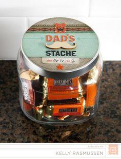 Father's Day Treat Jar | Kelly Rasmussen