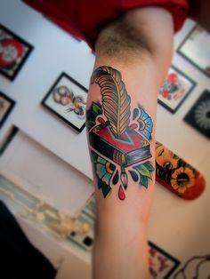 Memphis Bridge Tattoo