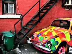Flowers VW Beetle