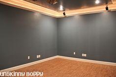Wish I had seen this basement remodel before I did mine!