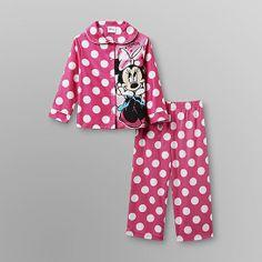 Disney Baby Minnie Mouse toddler pajamas.
