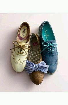Oxfords. Yes.