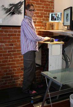 How to Build a Treadmill Desk: Health: Self.com