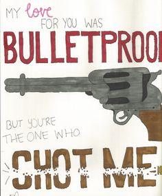 bulletproof love. pierce the veil. ♥
