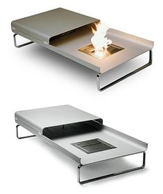 coffee table fire!