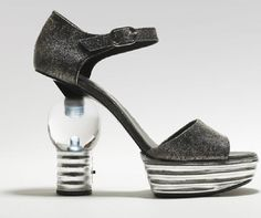 Chanel Lightbulb Heels