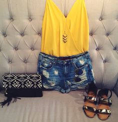 Summer outfit #swoonboutique