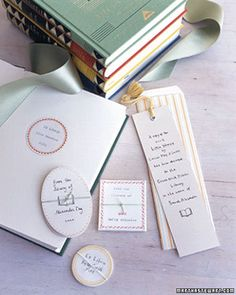 Books for Baby - Martha Stewart Crafts