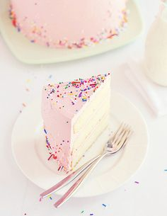 Love, Cake, & Sprinkles Sliced