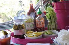 How to Build a Bloody Mary Bar | Garden  Gun