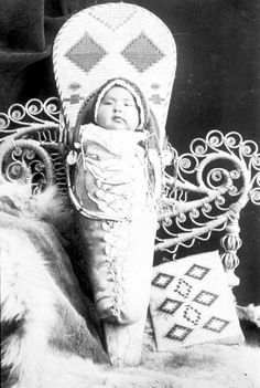 Nez Perce child, no name, date or location but definitely very cute!