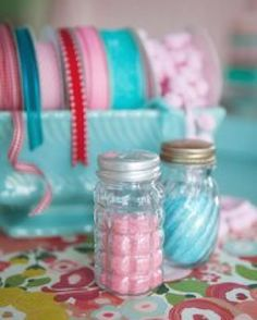 Glitter in salt shakers