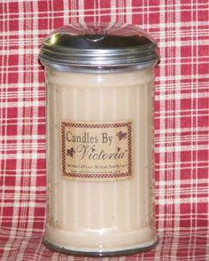 14oz Sugar Shaker Candle, CBV
