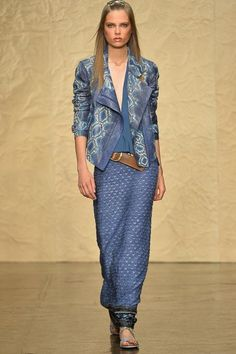 Donna Karan Spring 2014 Ready-to-Wear Collection...