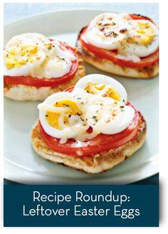Roundup: Leftover Easter Egg Recipes