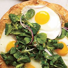 Sunny-Side-Up Pizza | CookingLight.com
