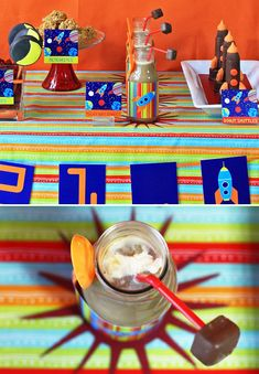 Birthday BLAST OFF! {Space Party Theme} // Hostess with the Mostess®