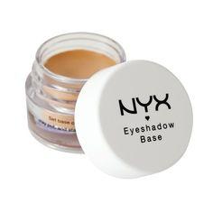 NYX Cosmetics Eye Shadow Base  Skin Tone  0.25 Ounce: http://www.amazon.com/NYX-Cosmetics-Shadow-Base-Ounce/dp/B0030O9LYY/?tag=httpbetteraff-20