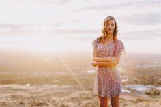 Outdoor Senior Portrait | Alison