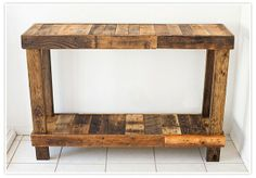 Pallet great for work table.