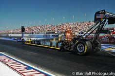 Tony Schumacher races for Army NHRA drag races Memphis Motorsports Park.
