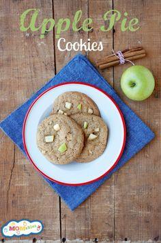 Apple Pie Cookies Recipe #McCormickBakeSale