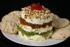 Bone Suckin' Sun-Dried Tomato Pesto Torte Recipe