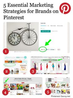 5 Essential Marketing Strategies Used By Brands on Pinterest @Melissa Squires Squires Squires Squires Squires Taylor