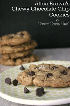 chewy chocolate chip cookies alton brown from food network