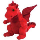 Beanie Babie - red dragon