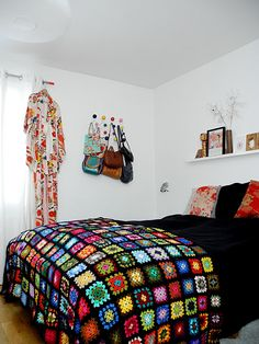 Grandmothers Crocheted blanket!