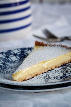 tarte de limão cremosa