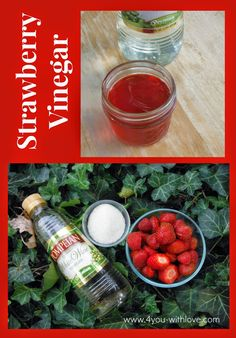DIY Strawberry Vinegar