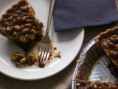 Salty Nut Pie #recipe
