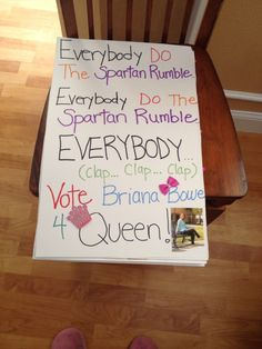 Homecoming Campaign Poster Ideas | Homecoming | Pinterest