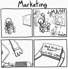 Marketing - Great graphic for job posting