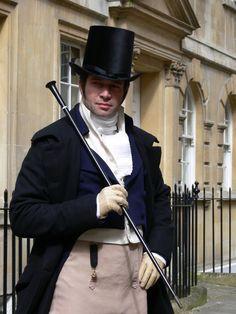 James Purefoy as Beau Brummell. Hello James :-P