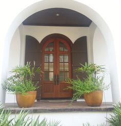 Doorway. Rosemary Beach. -via Interior Canvas