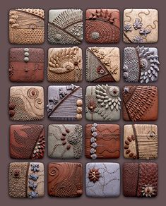 ceramic art- how fun would it be to have a class design one tile per student to form one large installment?