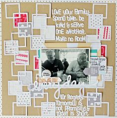 Layout By Melissa Mann using the Elle's Studio 2014 exclusive July kit
