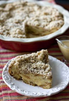Cinnamon Bread Pudding with Rum Sauce from @Erica's Sweet Tooth