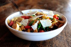 Penne Chicken with Spinach by Ree Drummond / The Pioneer Woman, via Flickr