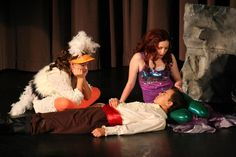 Scuttle, Ariel & Eric in Disney's The Little Mermaid, Jr. littler mermaid, mermaid jr, the little mermaid, mermaid costum