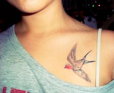 i would love this tattoo for in memory of my grandma she loved to watch birds when i was a kid.