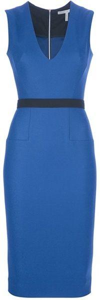 victoria beckham Sleeveless Dress - Lyst