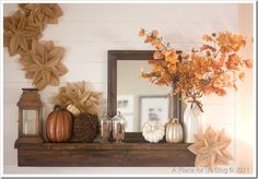 Mantel meets Autumn