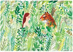 Lizzie Stewart - tiger meeting , I love this