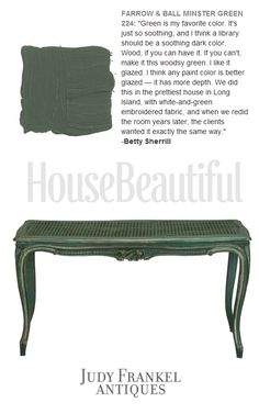 Paint Colors French Provincial