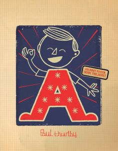 One of the coolest ABC books we've seen!
